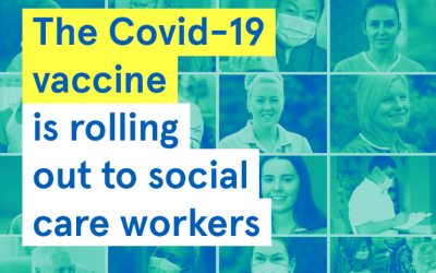 Covid-19 Vaccine for healthcare workers, social care workers and care home staff.