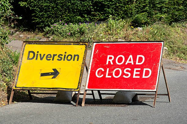 Road Closures in the Parish – from 15th June 2021